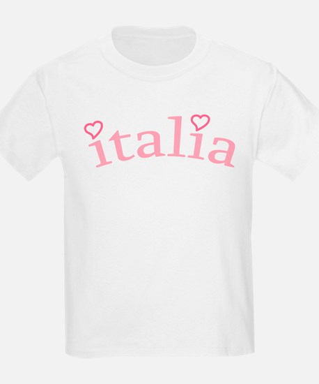 """Italia with Hearts"" T-Shirt"
