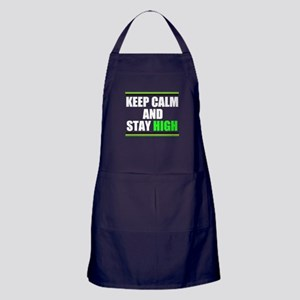 Stay High Apron (dark)