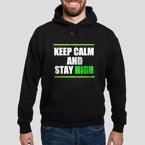 Stay High Hoodie (dark)