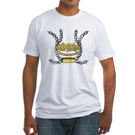 Twinkie-pocalypse 2 Fitted T-Shirt