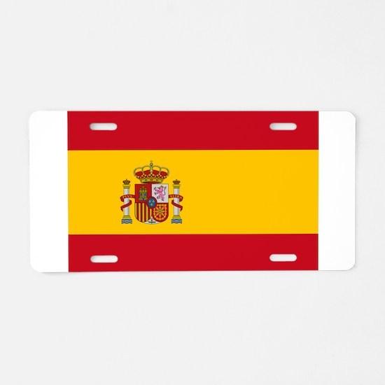 Spain - National Flag - Current Aluminum License P