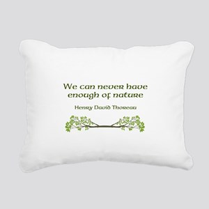 Nature Rectangular Canvas Pillow