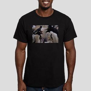 Yadda Yadda Yadda Men's Fitted T-Shirt (dark)