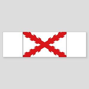 Spain - Cross of Burgundy - 1506-1701 Sticker (Bum