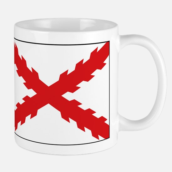 Spain - Cross of Burgundy - 1506-1701 Small Mug