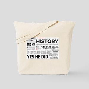 Obama Victory 2008/2012 Tote Bag