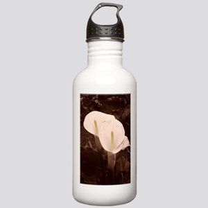 Calla Lily Pair Stainless Water Bottle 1.0L