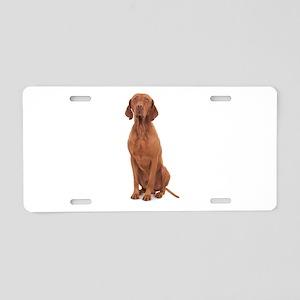 Vizsla Aluminum License Plate