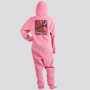 Fabric Slut Footed Pajamas