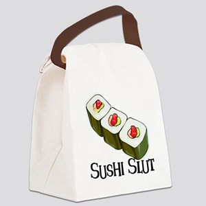 Sushi Slut Canvas Lunch Bag