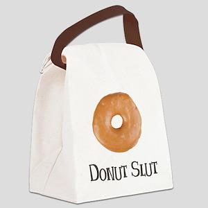 Donut Slut Canvas Lunch Bag