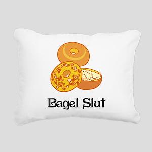 Bagel Slut Rectangular Canvas Pillow