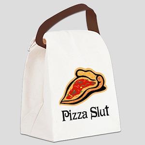 Pizza Slut Canvas Lunch Bag
