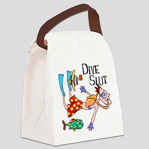 Dive Slut Canvas Lunch Bag