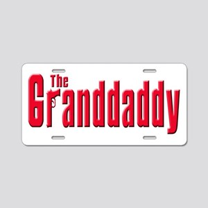 The Grandfather Aluminum License Plate