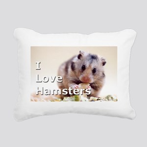 Hamster Rectangular Canvas Pillow