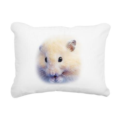 Syrian Hamster Rectangular Canvas Pillow