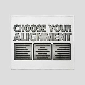 Alignment Throw Blanket