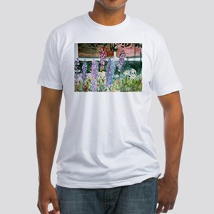 Wild Lupine Fitted T-Shirt