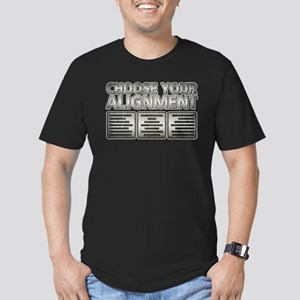 Alignment Men's Fitted T-Shirt (dark)