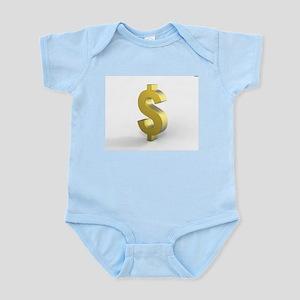 Gold Dollar SIgn Infant Bodysuit