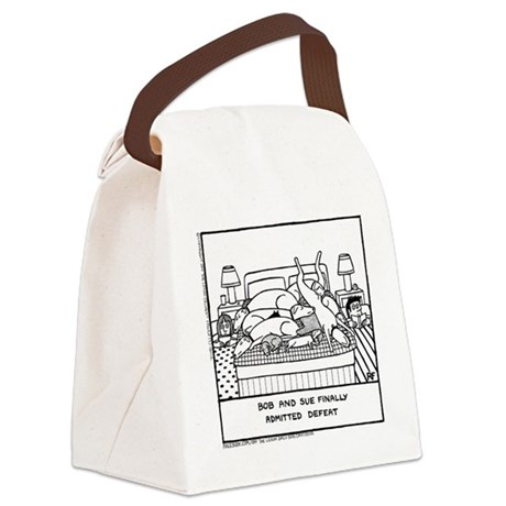 Finally Admitted Defeat - Canvas Lunch Bag