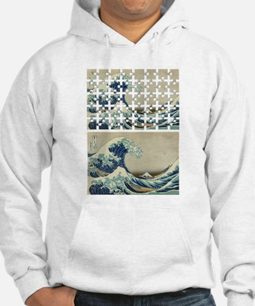 The Great Wave Off PUZZLE Jumper Hoody