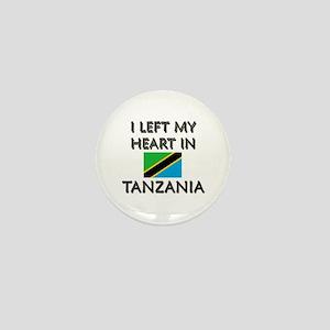 I Left My Heart In Tanzania Mini Button