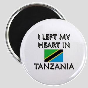 I Left My Heart In Tanzania Magnet