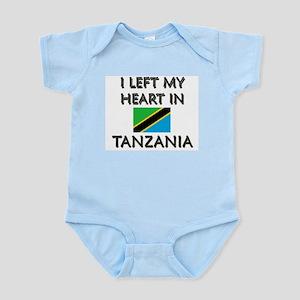 I Left My Heart In Tanzania Infant Creeper