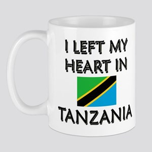 I Left My Heart In Tanzania Mug
