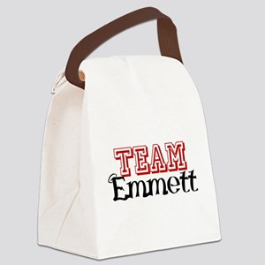 Team Emmett Canvas Lunch Bag