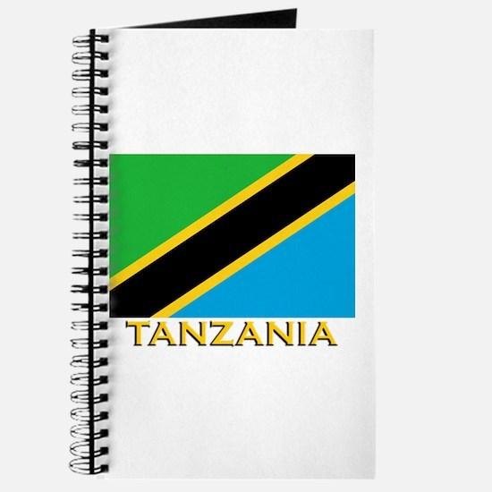 Tanzania Flag Gear Journal
