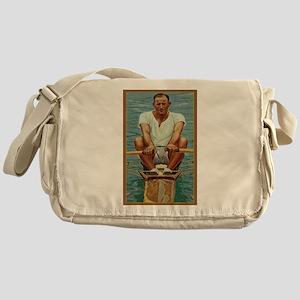 The Rower Messenger Bag