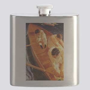 The Rowers Rowing Flask