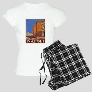 Naples Italy Women's Light Pajamas