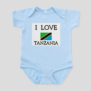 I Love Tanzania Infant Creeper