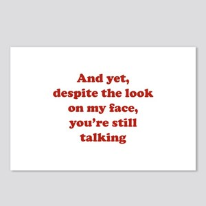 You're Still Talking Postcards (Package of 8)
