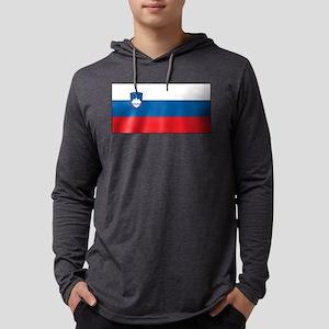 Slovenia - National Flag - Current Mens Hooded Shi