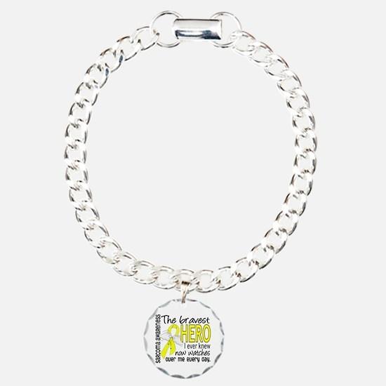 Bravest Hero I Knew Sarcoma Gifts Bracelet