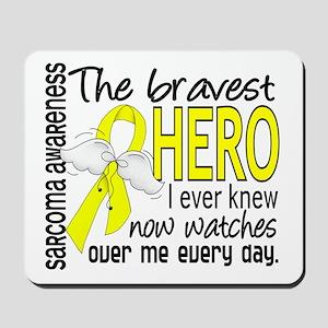 Bravest Hero I Knew Sarcoma Gifts Mousepad