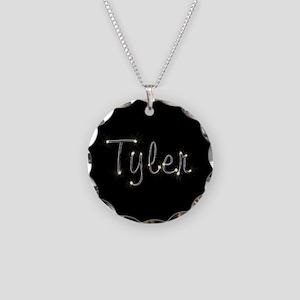 Tyler Spark Necklace Circle Charm
