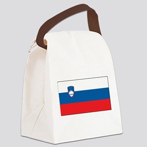 Slovenia - National Flag - Current Canvas Lunch Ba