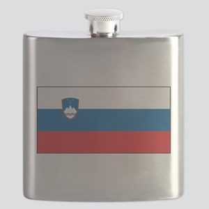 Slovenia - National Flag - Current Flask