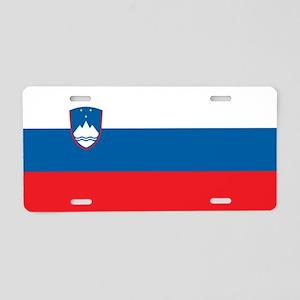 Slovenia - National Flag - Current Aluminum Licens