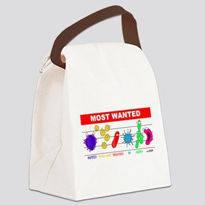 5-4-3-wantedneww Canvas Lunch Bag