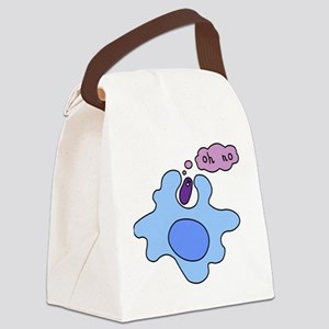 bacteria phago Canvas Lunch Bag