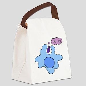 bacteria phago Canvas Lunch Bag
