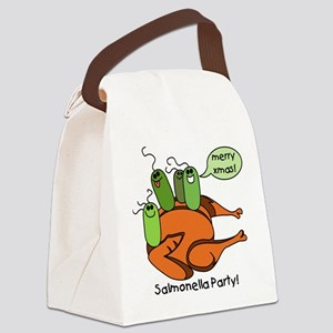 salmonellaparty Canvas Lunch Bag