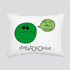 coccus Rectangular Canvas Pillow
